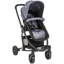 Carrinho de Bebê Kiddo Prima Melange Azul 5229MA -