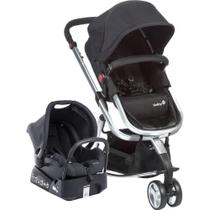 Carrinho de Bebe Mobi TS Black  Silver CAX90307 Safety 1st -