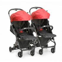 Carrinho de bebê para gemeos Duolee modular vermelho - Galzerano -