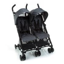 Carrinho de Bebê para Gêmeos Safety 1st Nano - Grey Black -