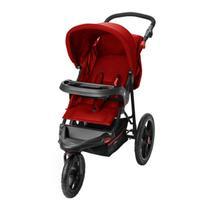 Carrinho de Bebê Passeio 3 Rodas Travel System Reclinável Com Bebê Conforto Fisher Price Expedition - Multikids Baby