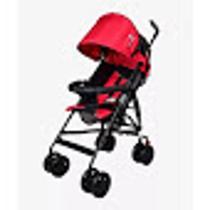Carrinho De Bebê Passeio Guarda Chuva vermelho - Color Baby -