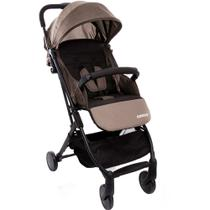 Carrinho de Bebê Pocket Clever Bege Mescla - Cosco -