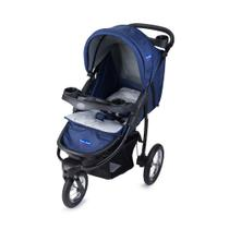 Carrinho de Bebê Prime Baby Triciclo 3 Posições Velloz  Azul -