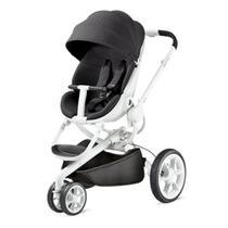 Carrinho de Bebê Quinny Moodd Black Irony 0 a 15kg - IMP91026 -