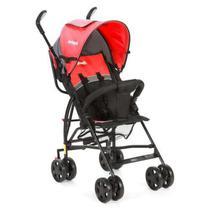 Carrinho de Bebê Spin Infanti Vermelho/Cinza -