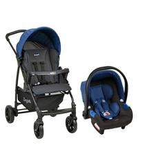 Carrinho de Bebê Travel System Ecco Azul - Burigotto -