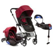 Carrinho de Bebê Travel System Epic Lite Duo + Base Isofix Infanti Cherry - Dorel