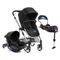 Carrinho de Bebê Travel System Epic Lite Duo + Base Isofix Infanti Onyx - Dorel