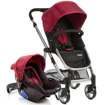 Carrinho de Bebê Travel System Epic Lite Duo Infanti Cherry - Dorel
