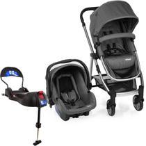 Carrinho de Bebê Travel System Infanti Epic Lite Trio Grey Classic + Base Isofix -