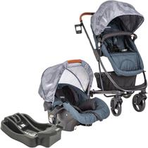 Carrinho de Bebê Travel System Kiddo Nexus Azul Marinho + Base -