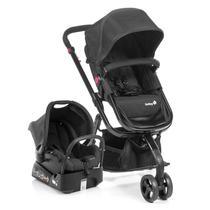 Carrinho de Bebê Travel System Mobi Full Black - Safety 1st -