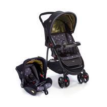 Carrinho de bebê Travel System Nexus Preto (Carrinho+Bebê Conforto) Dorel -