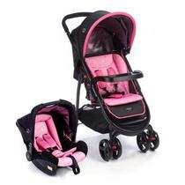 Carrinho de bebê Travel System Nexus Rosa (Carrinho+Bebê Conforto) Dorel -