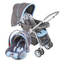 Carrinho De Bebê Travel System Reverse Azul Cosco -