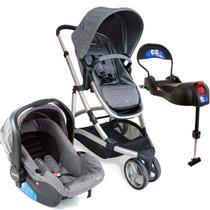 Carrinho de Bebê Travel System  Sky Trio Grey Classic 0 meses a 15 kg - Infanti