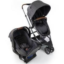 Carrinho de Bebê Travel System Sky Trio Grey Vintage Infanti -