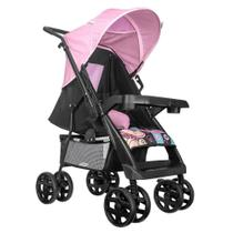 Carrinho de Bebe Tutti Baby Novo Supreme Rosa -