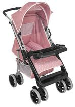 Carrinho de Bebe Tutti Baby Thor Rosa Coroa -