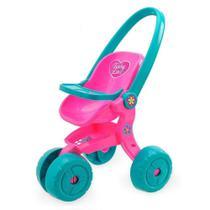 Carrinho De Boneca Baby Love Menina Usual Brinquedos -