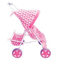 Carrinho de Boneca Bebe Reborn Brinquedo Infantil Passeio - Cgm