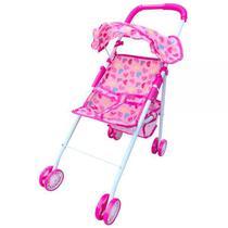Carrinho De Boneca Bebê Reborn Infantil Meninas Delicado - Dm Toys