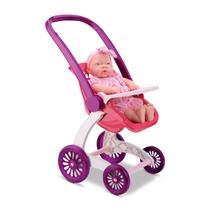 Carrinho de Boneca Confort Baby Passeio Samba Toys -