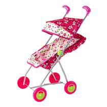 Carrinho De Boneca Luxo Para Bebê Reborn Menina - Brinquedos Oliveira