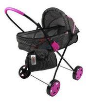 carrinho de boneca roma xikitinha - brinquedos oliveira -