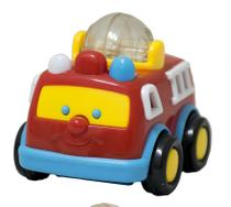 Carrinho de brinquedo com chocalho para bebe 6 meses - Bbr Toys