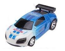 Carrinho De Controle Lata Racing Azul Dtc -