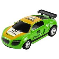 Carrinho De Controle Lata Racing Verde 4742 DTC -