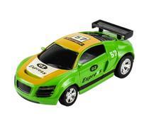 Carrinho De Controle Lata Racing Verde Dtc -