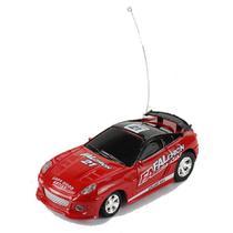 Carrinho De Controle Lata Racing Vermelho Dtc -