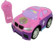 Carrinho de Controle Remoto Barbie Style Machine - 3 Funções Candide Rosa