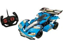 Carrinho de Controle Remoto Garagem - Extreme 7 Funções Candide Azul