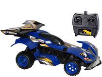 Carrinho de Controle Remoto Garagem SA  - Velociraptor 7 Funções Candide Azul
