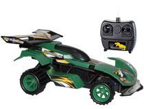 Carrinho de Controle Remoto Garagem SA  - Velociraptor 7 Funções Candide Verde
