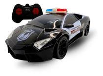 Carrinho De Controle Remoto Policia Super Carro Brinquedo - TOYS