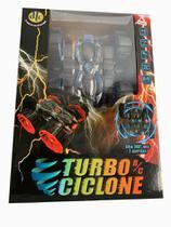 Carrinho de Controle Remoto Turbo Ciclone Azul - Dtc -