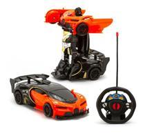 Carrinho De Controle Remoto Vira Robo Changebot CAR502 - Polibrinq