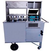 Carrinho de Hot Dog e Lanche com caixa térmica código 11407 - R2 -