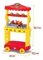 Carrinho de Lanche Infantil - Mini Lanchonete - Food Truck - Magic Toys