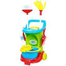 Carrinho de Limpeza Cleaning Trolley Colorido - Maral -