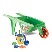 Carrinho De Mão Brinquedo Carriola Praia Infantil - Samba Toys