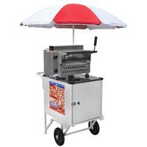 Carrinho De Mini Pizza Standard 2 Rodas Cps017 Armon -