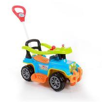 Carrinho De Passeio Bebê Jip Jip Colorido Com Empurrador Maral -