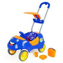 Carrinho de Passeio Kids Car Azul - Homeplay -