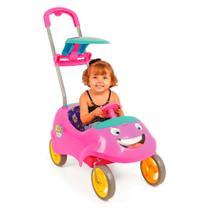 Carrinho de Passeio Kids Car Rosa - Homeplay -